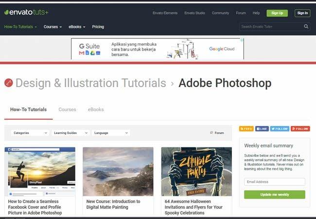 Situs Belajar Photoshop (1)
