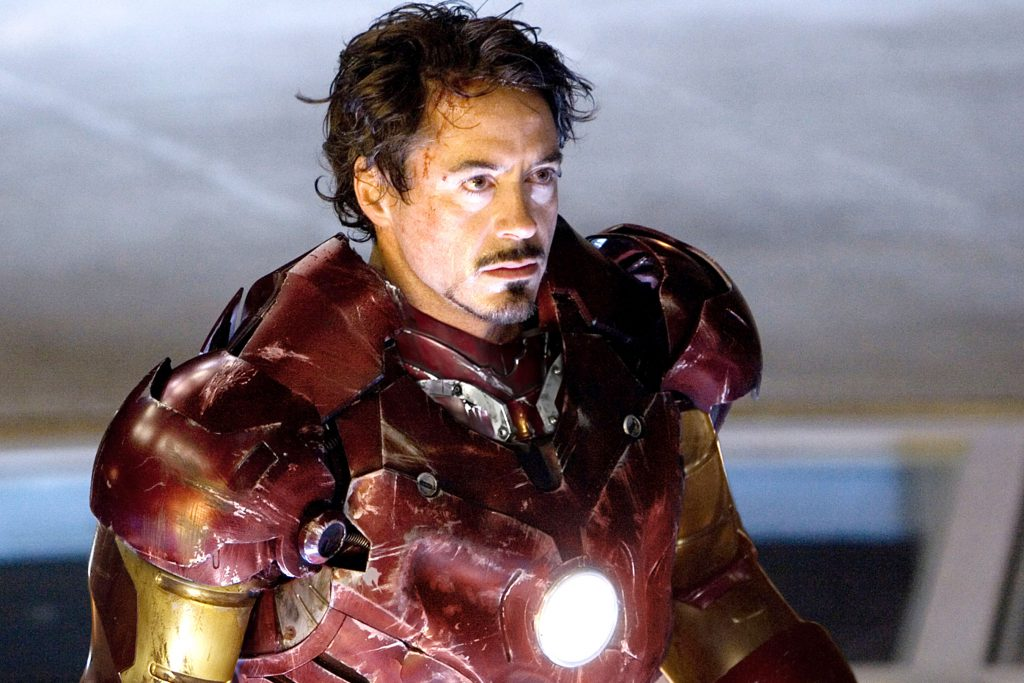 IRON MAN, Robert Downey Jr., 2008. ©Paramount/Courtesy Everett Collection