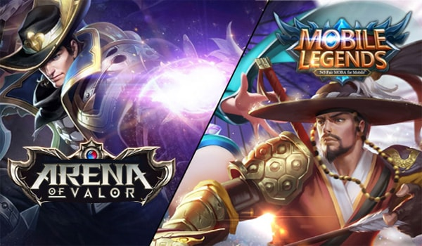 Arena Of Valor Vs Mobile Legend Min