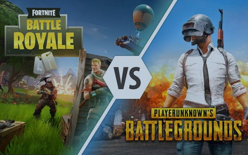 Fortnite Vs PUBG Min