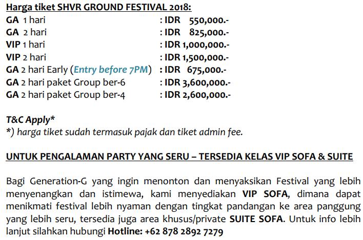 Inilah Lineup Lengkap SHVR GROUND FESTIVAL Yang Akan Dimeriahkan Oleh Alan Walker! Harga Ticket
