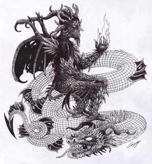 Mengenal 20 Iblis Terkejam Dan Menyeramkan Yang Tidak Akan Pernah Kalian Ketahui! Dagon