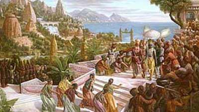 Mengerikan! Berikut 10 Kisah Mitologi Yang Ternyata Benar Benar Ada Di Dunia! Dvraka Kota Krisna