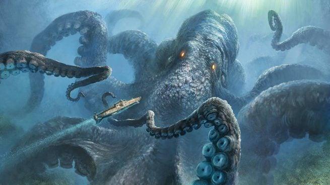 Mengerikan! Berikut 10 Kisah Mitologi Yang Ternyata Benar Benar Ada Di Dunia! Kraken