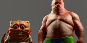 Mengerikan! Inilah 15 Gambar Horor Dan Sadis SpongeBob Buatan Netizen! 12