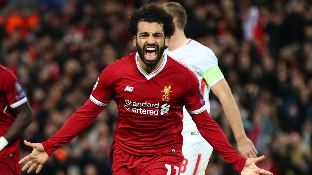 Liverpool FC V Spartak Moskva UEFA Champions League