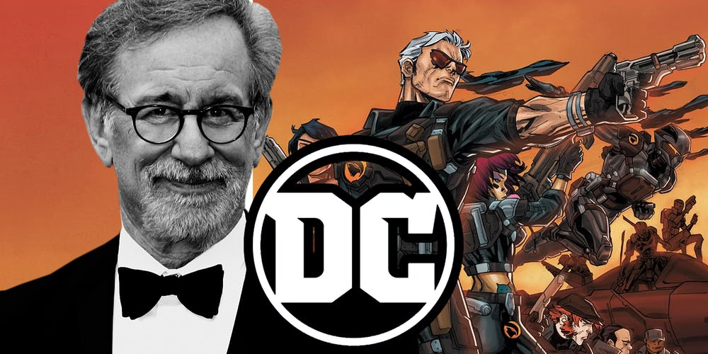 Steven Spielberg And DC Comics Blackhawk
