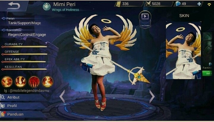 Download 600 Wallpaper Lucu Mobile Legend HD Terbaru