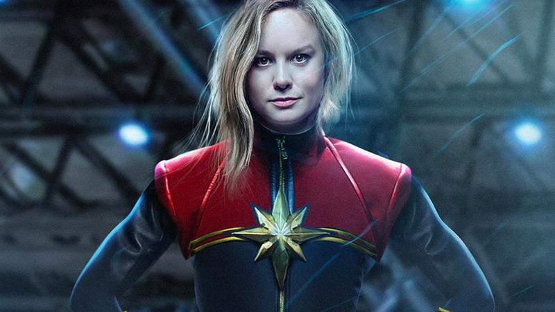 Kostum Captain Marvel