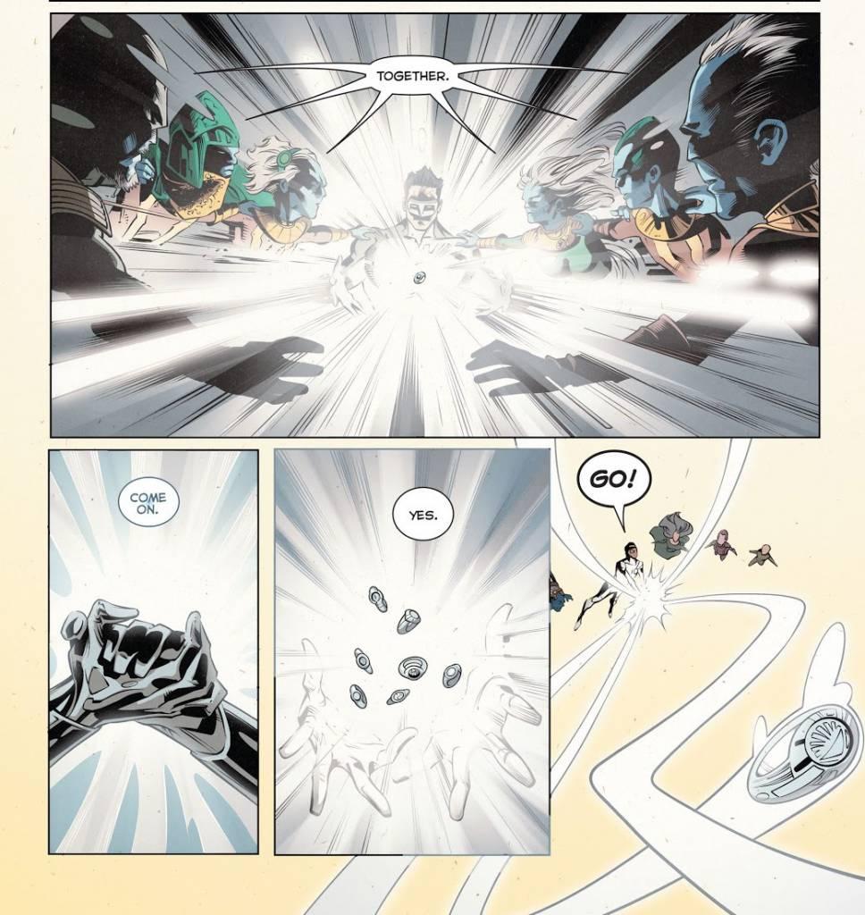 asal usul white lanterns corps