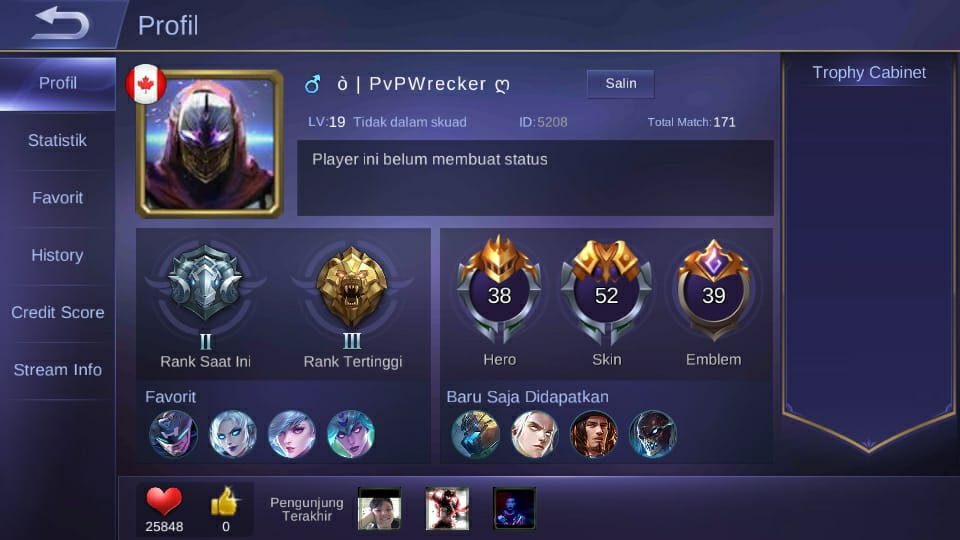 Sultan Mobile Legends PvPWrecker