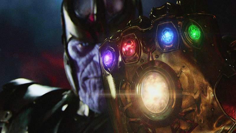 Thanos Avengers Infinity War Infinity Gauntlet