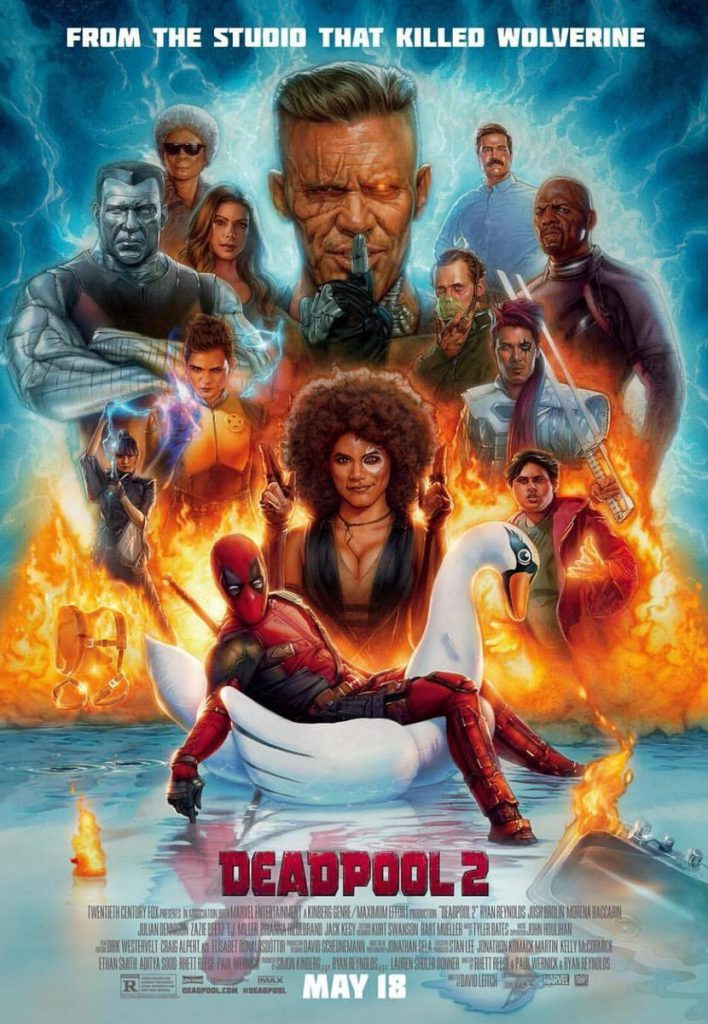 Deadpool 2 Poster From Studio That Killed Wolverine 1107580