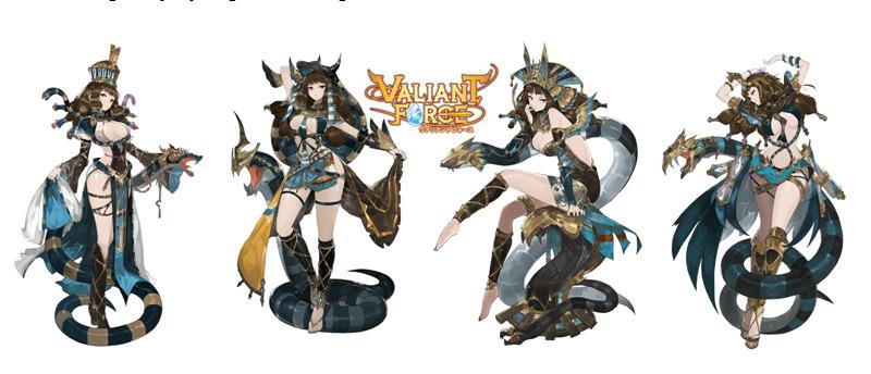 Maya Valiant Force Collection