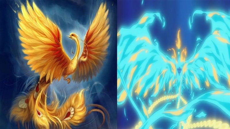 Phoenix mitologi one piece