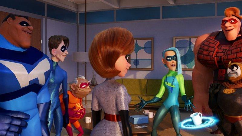 superhero bersatu melawan kejahatan