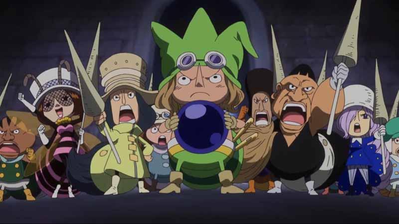 suku Tontatta dalam anime one piece