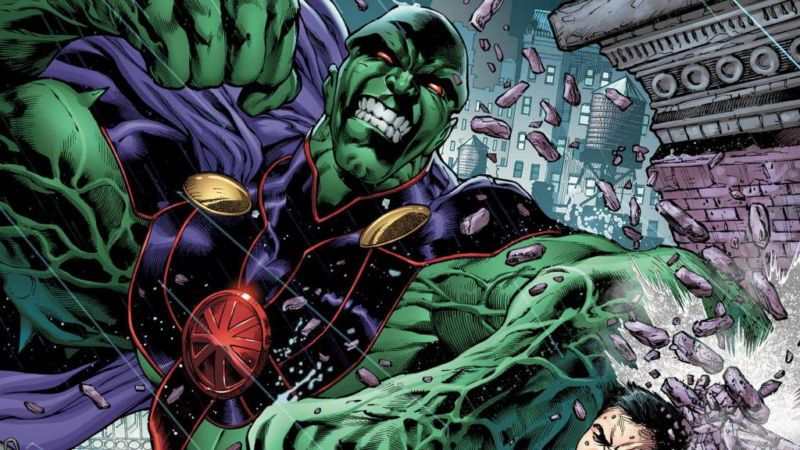 asal usul martian manhunter - kekuatan martian manhunter