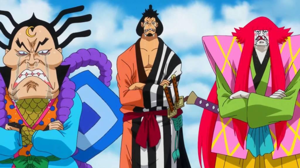 3 Pendekar Samurai Meminta Bantuan Untuk Melawan Kaido
