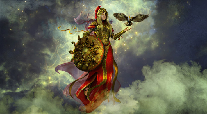 kisah dewi athena
