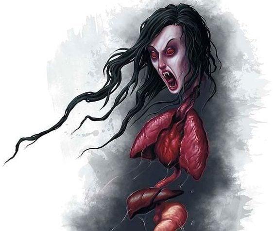 Mengenal Kuyang, Hantu Berwujud Kepala Wanita Yang Tak Memiliki Tubuh! Dafunda Horor