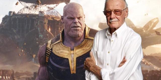Stan Lee Marah Thanos Infinity War