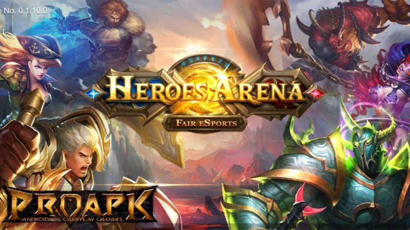 Hasil gambar untuk moba heroes arena