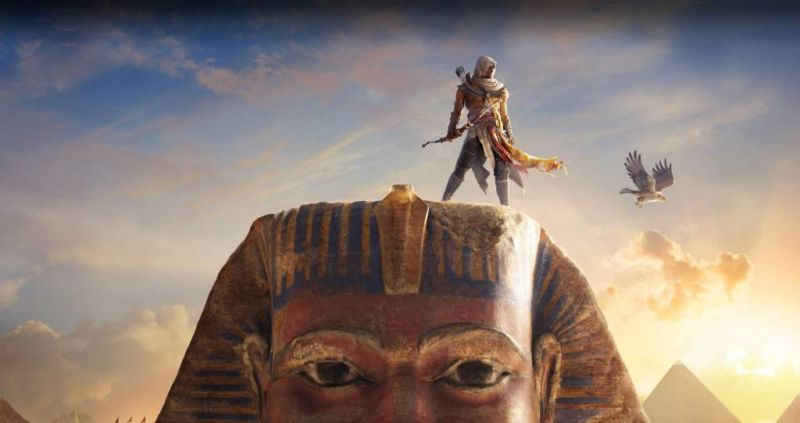 5 Rekomendasi Game Adventure PC Terbaik Yang Wajib Kalian Mainkan! Assassins Creed Origins