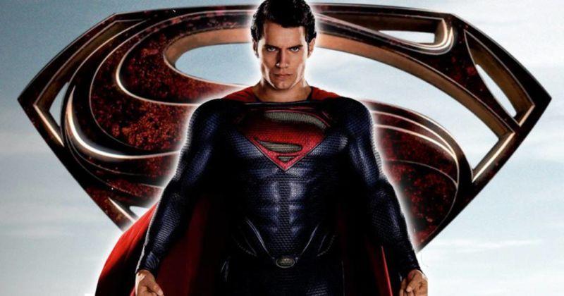 Henry Cavil Superman For Tomorrow