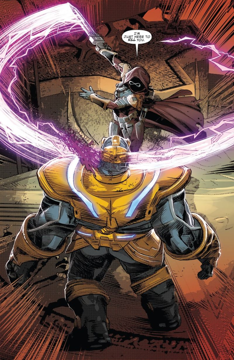 Infinity Wars: Prime Thanos Death