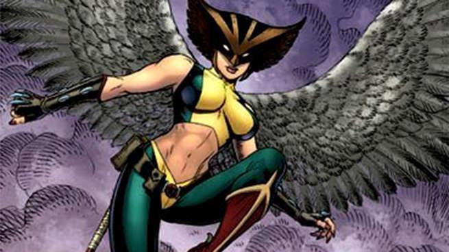 Birds Of Prey Hawkgirl