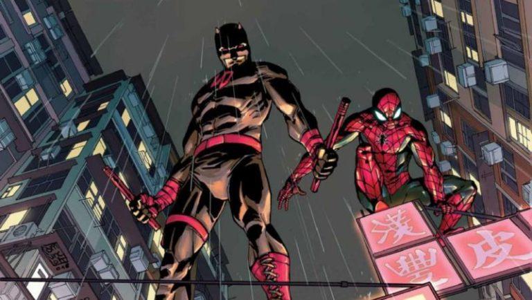 Daredevil Spider Man Tim