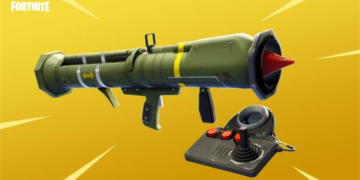 Fortnite guided missile