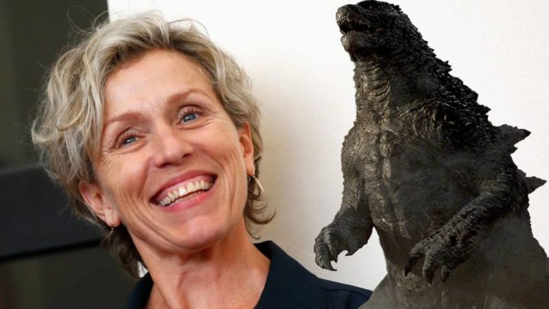 Francess Mcdormand Gabung Godzilla Vs Kong