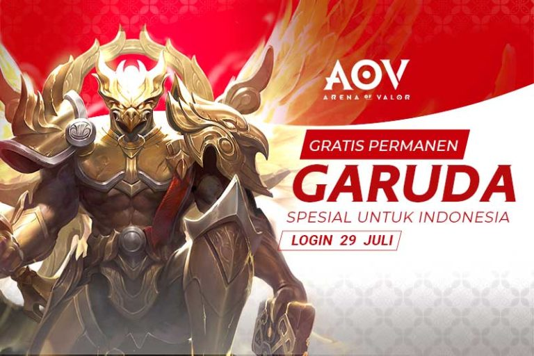 Game Moba 5 VS 5 Arena of Valor Akan Membuat Hero dan Skin dari Indonesia