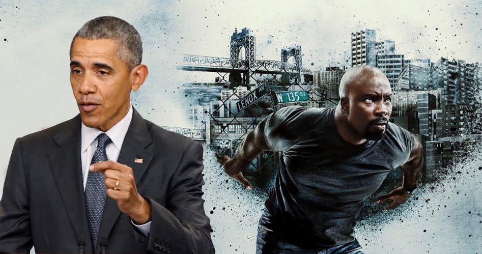 Luke Cage Obama