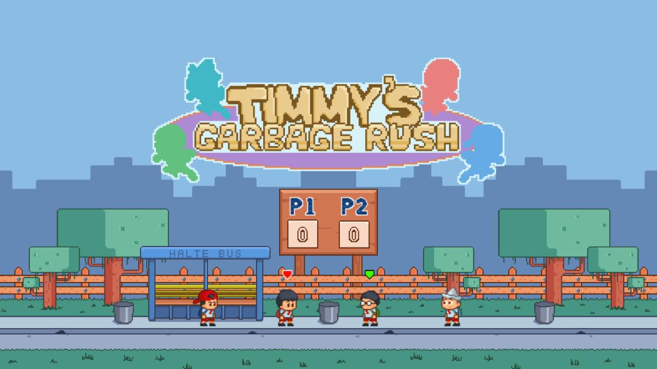 Timmys Garbage Rush 1