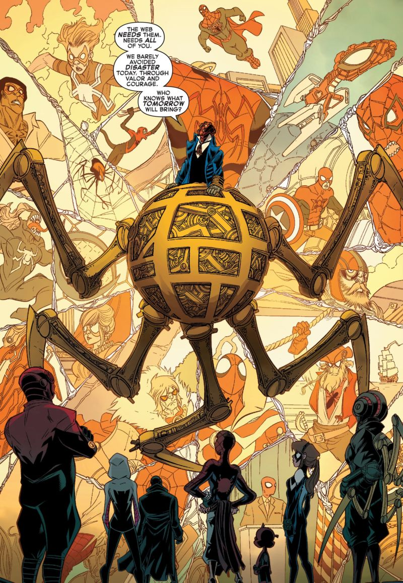 Web Of Life And Destiny Spider-Verse