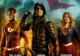 Poster Resmi Crossover Arrowverse