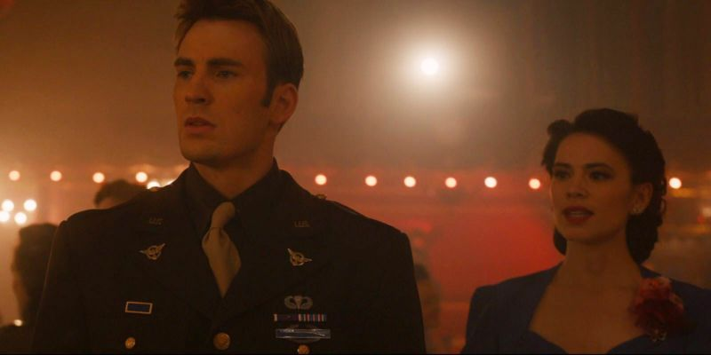 Avengers 4 Credit Scene Captain America Peggy Carter