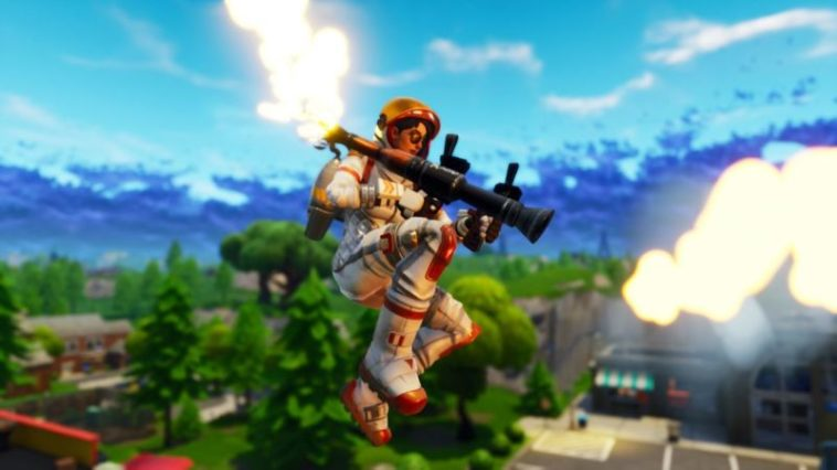 Fortnite mode Fly Explosives