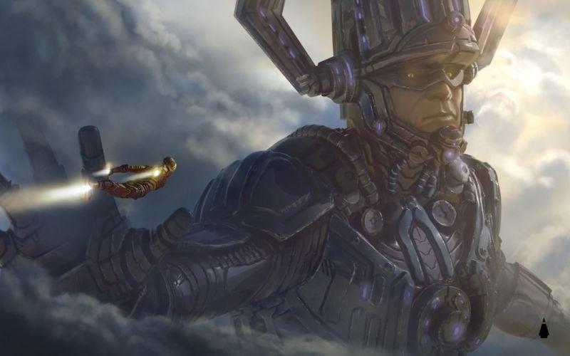concept art Galactus Mcu