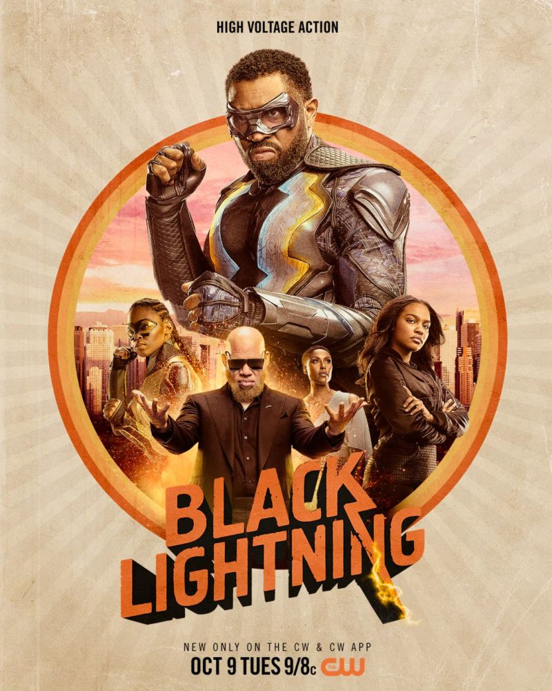 Poster Black Lightning Season 2