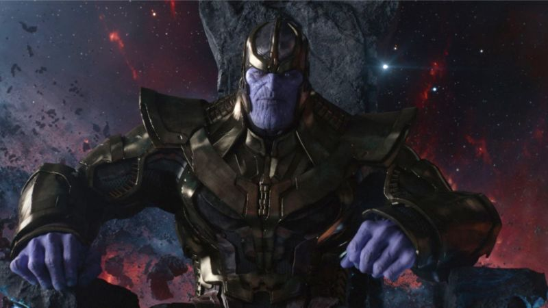 Thanos Menununggu Mengumpulkan Infinity Stone