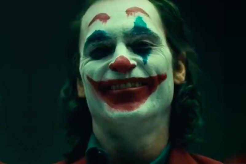 Joaquin Phoenix Joker Make Up