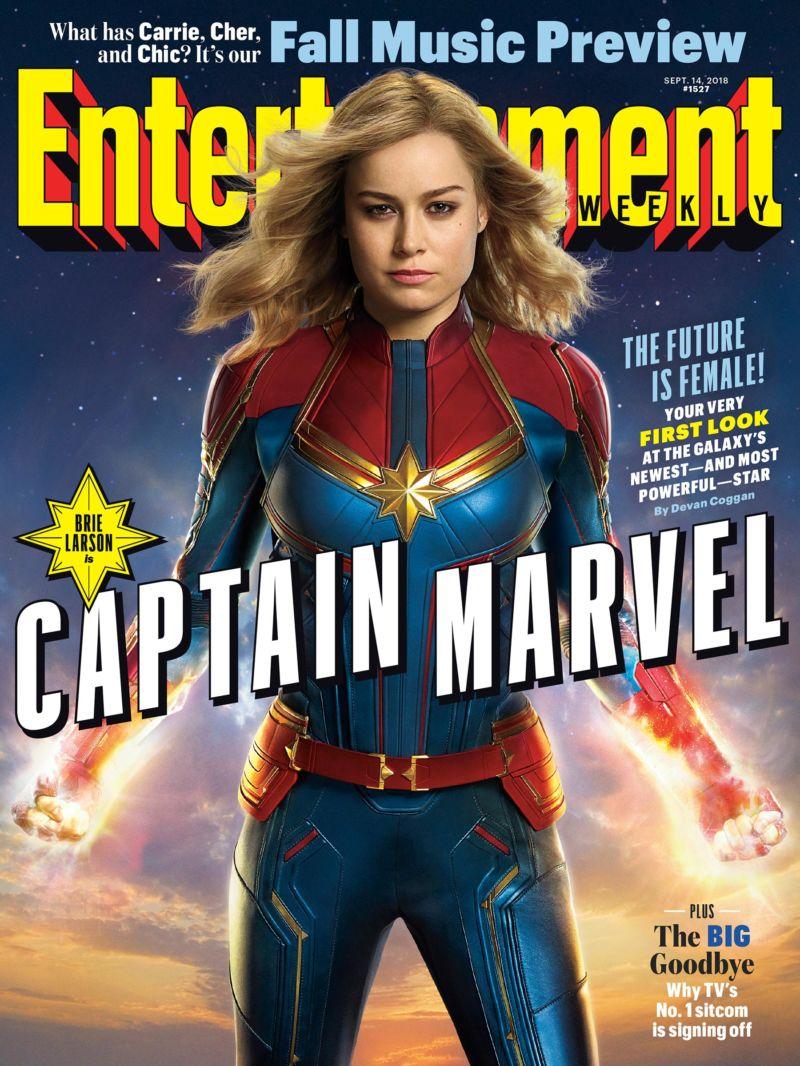 Captain Marvel Cover EW