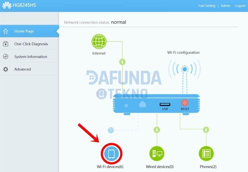cara memblokir pengguna wifi indihome