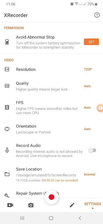Cara Merekam Layar Hp Android (10)