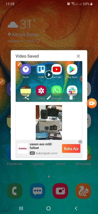 Cara Merekam Layar Hp Android (3)