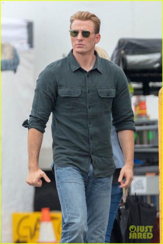 Chris Evans Di Lokasi Syuting Avengers 4